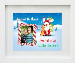 Personalised Santa's Little Helper Print Design 1